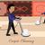рабочих · Cartoon · иллюстрация · шесть · работу - Сток-фото © robuart