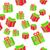 エンドレス · クリスマス · テンプレート · パターン - ストックフォト © robuart