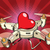 quadcopter drone red heart valentine holiday stock photo © rogistok