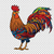 red rooster the symbol of 2017 stock photo © rogistok