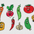 set of fresh cute vegetable characters stock photo © rogistok