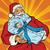 santa claus with a newborn boy stock photo © rogistok