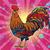 farm bird rooster on holiday background stock photo © rogistok