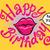 red lips happy birthday to you stock photo © rogistok