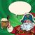 santa claus beer in the irish pub stock photo © rogistok