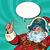 santa claus pirate wishes merry christmas stock photo © rogistok