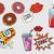 bebida · fria · pop · milho · ilustração · papel · filme - foto stock © rogistok