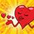 heart valentine sends a kiss stock photo © rogistok