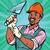 meester · werknemer · glimlachend · werk · logo · vector - stockfoto © rogistok