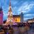 рождественская · елка · Варшава · ночь · замок · квадратный - Сток-фото © rognar