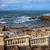 mesire · Portekiz · kare · bank · deniz · yaz - stok fotoğraf © rognar