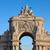 boog · Lissabon · Portugal · historisch · gebouw · bezoeker - stockfoto © rognar