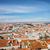 Lisboa · barrio · antiguo · Portugal · mujer · caminando · calle - foto stock © rognar