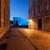 город · ночь · Польша · старые · домах · пешеходный · мост - Сток-фото © rognar