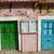 rosa · vernice · vecchio · legno · legno · sfondo - foto d'archivio © rognar