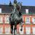 koning · standbeeld · Madrid · bronzen · Spanje - stockfoto © rognar
