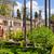 garden of the pond in real alcazar of seville stock photo © rognar