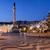 fő- · tér · este · épület · város · naplemente - stock fotó © rognar