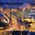 kilátás · Barcelona · kikötő · kék · mediterrán · tenger - stock fotó © rognar