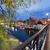 市 · 1泊 · ポーランド · 川 · 水辺 · ミル - ストックフォト © rognar