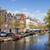 лодках · Амстердам · канал · весны · Нидерланды · север - Сток-фото © rognar