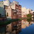 city of bydgoszcz from mill island in poland stock photo © rognar