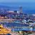 haven · jachthaven · nacht · Barcelona · stad · reizen - stockfoto © rognar