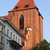 gothic cathedral basilica tower in torun stock photo © rognar