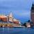 cidade · ouvir · Polônia · noite · arquitetura · cidade - foto stock © rognar