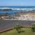 seaside promenade in foz district of porto stock photo © rognar