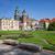 katedrális · Krakkó · Lengyelország · zöld · gyep · épület - stock fotó © rognar