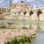 roman bridge on guadalquivir river stock photo © rognar