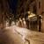 Barcelona · éjszaka · épület · város · tenger · sziluett - stock fotó © rognar