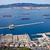 vracht · schepen · horizon · Blauw · zee · water - stockfoto © rognar