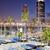 Barcelona · marina · kikötő · torony · hajók · üzlet - stock fotó © rognar