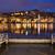 stad · nacht · Portugal · skyline · reflectie · rivier - stockfoto © rognar