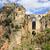 新しい · 橋 · スペイン語 · 歴史的 · ランドマーク · メイン - ストックフォト © rognar