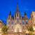 éjszaka · Barcelona · gótikus · negyed · ház · épület - stock fotó © rognar