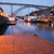 brug · Portugal · hemel · metaal · zomer · reizen - stockfoto © rognar