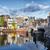 Blauw · brug · Amsterdam · rivier · Nederland · stad - stockfoto © rognar