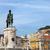 standbeeld · koning · Lissabon · Portugal · boog · steen - stockfoto © rognar