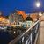 ville · nuit · Pologne · vieux · pont - photo stock © rognar