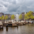 amsterdam skyline from the amstel river stock photo © rognar