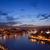 avond · rivier · Portugal · steden · reizen - stockfoto © rognar