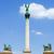 standbeeld · vrede · helden · vierkante · Boedapest · Hongarije - stockfoto © rognar