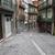 oude · binnenstad · straat · Portugal · kathedraal · stad - stockfoto © rognar