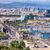 kikötő · Barcelona · fölött · festői · kilátás · épület - stock fotó © rognar
