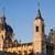 tapınak · Madrid · İspanya - stok fotoğraf © rognar