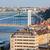 Будапешт · Cityscape · живописный · город · Венгрия · мостами - Сток-фото © rognar