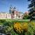 собора · Краков · Польша · зеленый · газона · здании - Сток-фото © rognar